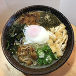 創作麺処 麺ソウル ラボ - 9月限定「月見ホタテ潮らーめん」