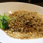 雲林坊 - 続いてはスパイシーなウマさを予感させる「汁なし担々麺」を食べてみることに。