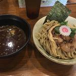 92330484 - 濃厚魚介つけ麺(大盛)