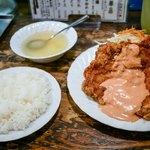 鳥心 - ■チキンナンバン定食 950円