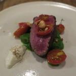 92331325 - 牛肉のロースト トマト添え ほうれん草のニョッキ2