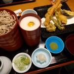 第一藤駒 - 料理写真:天付割子そば