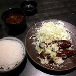 黒豚屋 らむちぃ - 味噌串カツランチ