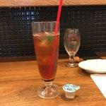 goo ITALIANO - セットの飲み物、アイスティーを頼みました