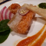 大磯プリンスホテル - サーモンと魚介のタルタル
