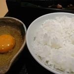 和っぷる - 赤玉の卵かけご飯☺️