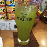 壱番館 - 緑茶割り
