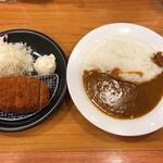 カツカレー専門店 新宿カレー  - イベリコ豚ロースカツカレー