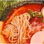 濃厚鶏麺 ゆきかげ - コリコリ感のある麺。