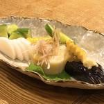 宮崎料理 万作 - お新香盛り