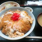 藤よし - 料理写真:かつ丼 + ミニもつ煮