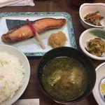 92339913 - 鮭京粕漬け定食