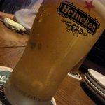 GLASS DANCE 浜松町 - ハイネケン エクストラコールド ¥500