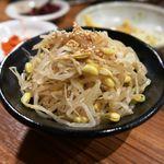 炭火焼肉ホルモン 七輪坂井 - 豆もやしナムル