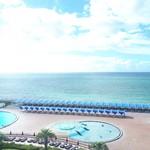 大磯プリンスホテル - 客室からの大磯ロングビーチ