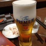 群馬の台所 - 生ビール~☆