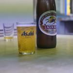天一軒 - 瓶ビールで