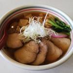 ラーメンハウス・パティーネ - 大多喜たけのこチャーシュー麺(900円)