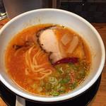 拉麺ひらり - トマチリ・ペペロンチーノ