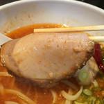 拉麺ひらり - チャーシューもスープの味に合ってる(*´ω`)