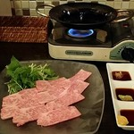 wine & kitchen Beeftei - 焼きカルパッチョ980円