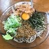 笠置そば - 料理写真:納豆そば