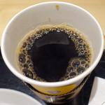 アンドコーヒー メゾンカイザー - モーニングセット(390円+税)のホットコーヒー4