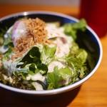 山本のハンバーグ - サラダ