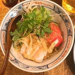 サレカマネ - 蒸し鶏ゴマだれ麺