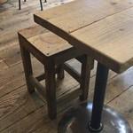 猿田彦珈琲 - テーブル席は、こんな感じです。