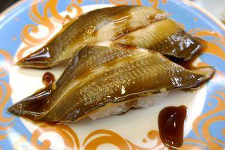 海鮮処 森田 大洗店 - ふっくらと身が柔らかな「穴子」320円は、甘いタレ、酸味の効いたタレがベストフレンドの如くマッチ!