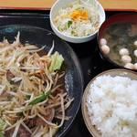 92348876 - ラム焼肉定食(750円)