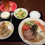 92348938 - 五目冷麺セット