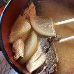 タカマル鮮魚店  - アラ汁