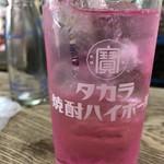 浅見本店 - ドリンク写真:酎ハイ シソバイス