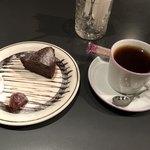 コーヒー フラジャイル - ケーキセット800円