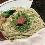 生姜醤油専門 我武者羅 - 梅しそ塩つけ麺