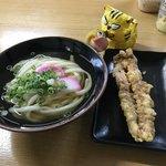 善通寺うどん - 料理写真:合計で350円(税込)