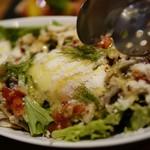 池袋 肉バル アンタガタドコサ - うさぎのシーザーサラダ