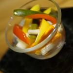 池袋 肉バル アンタガタドコサ - 彩りピクルス