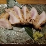 なかめのてっぺん - 大山鶏レアステーキ(680円)