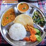 アジアンレストラン&バー レスナ - 料理写真:ネパーリセット税込800円