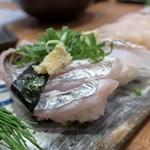 寿司処 翔海 KAKERU - 太刀魚