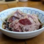 92353136 - ほほ肉たたきポン酢