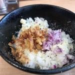 麺屋M - オニオンリゾット