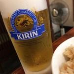 野毛おでん - 生ビール