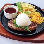グリル ドミ コスギ&Mart - 和風ハンバーグステーキ
