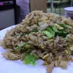中華大千居 - 肉千切りチャーハン(醤油味)