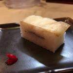 麺家 いさむ - 鯛押し寿司