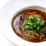 星期菜 - 酸味と辛味のスーラータンメン